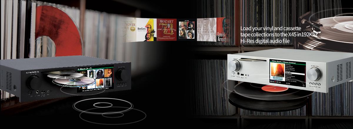 CocktailAudio X45 | Music Server tích hợp DAC và Pre-ampli | Anh Duy Audio