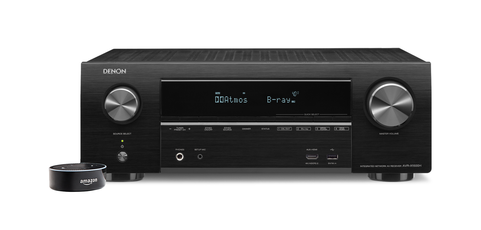 Điều khiển ampli bằng giọng nói quaAmazon Alexa Denon AVR-X1500H