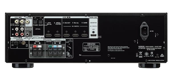 Amply Denon AVR-X250BT   HAYAUDIO.COM