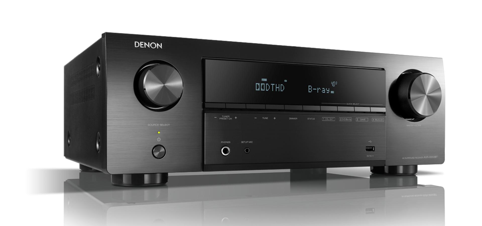 Denon AVR-X550BT | HayAudio.com