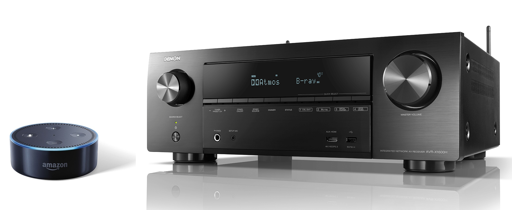 Ampli Denon AVR-X1600H | Anh Duy Audio