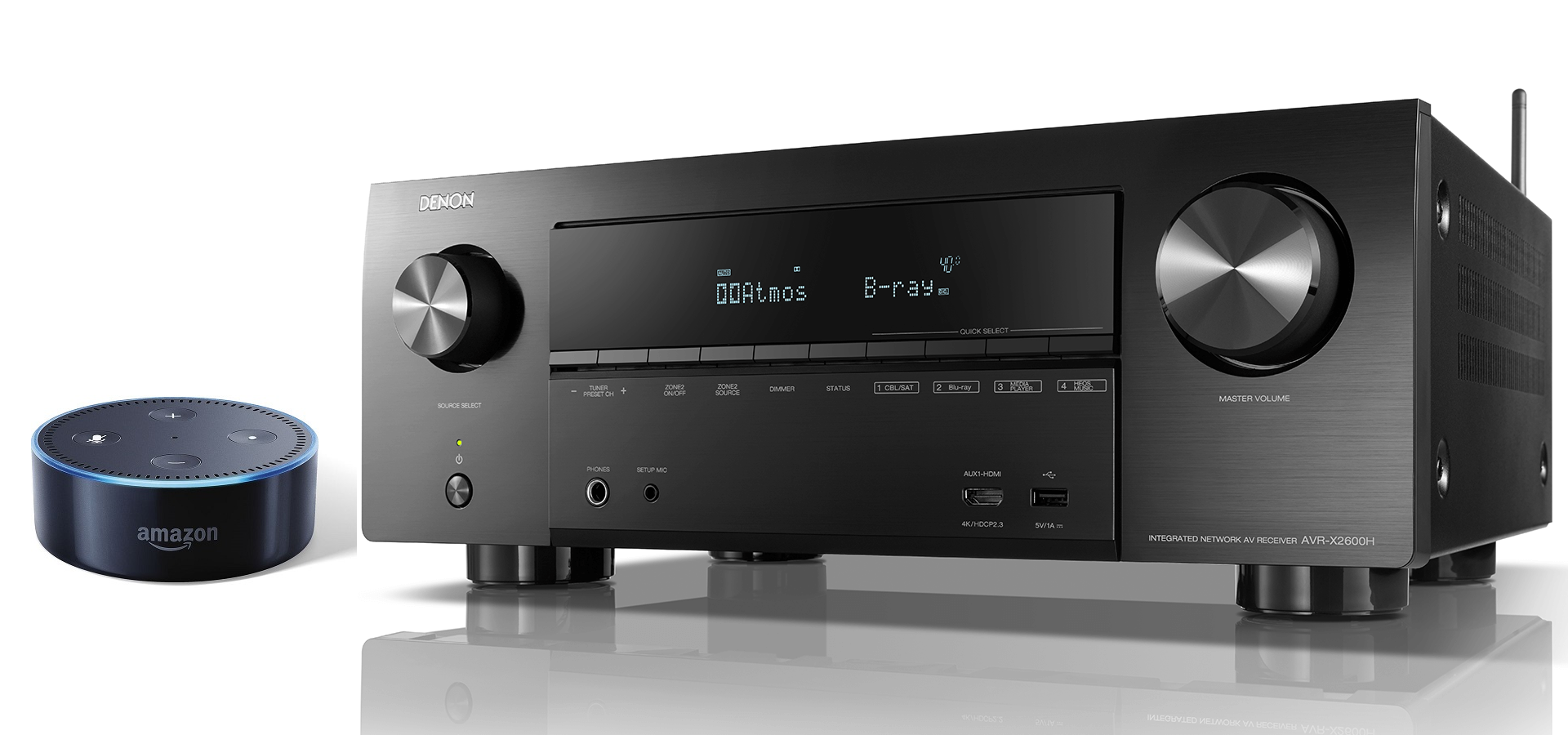 Ampli Denon AVR-X2600H | Anh Duy Audio