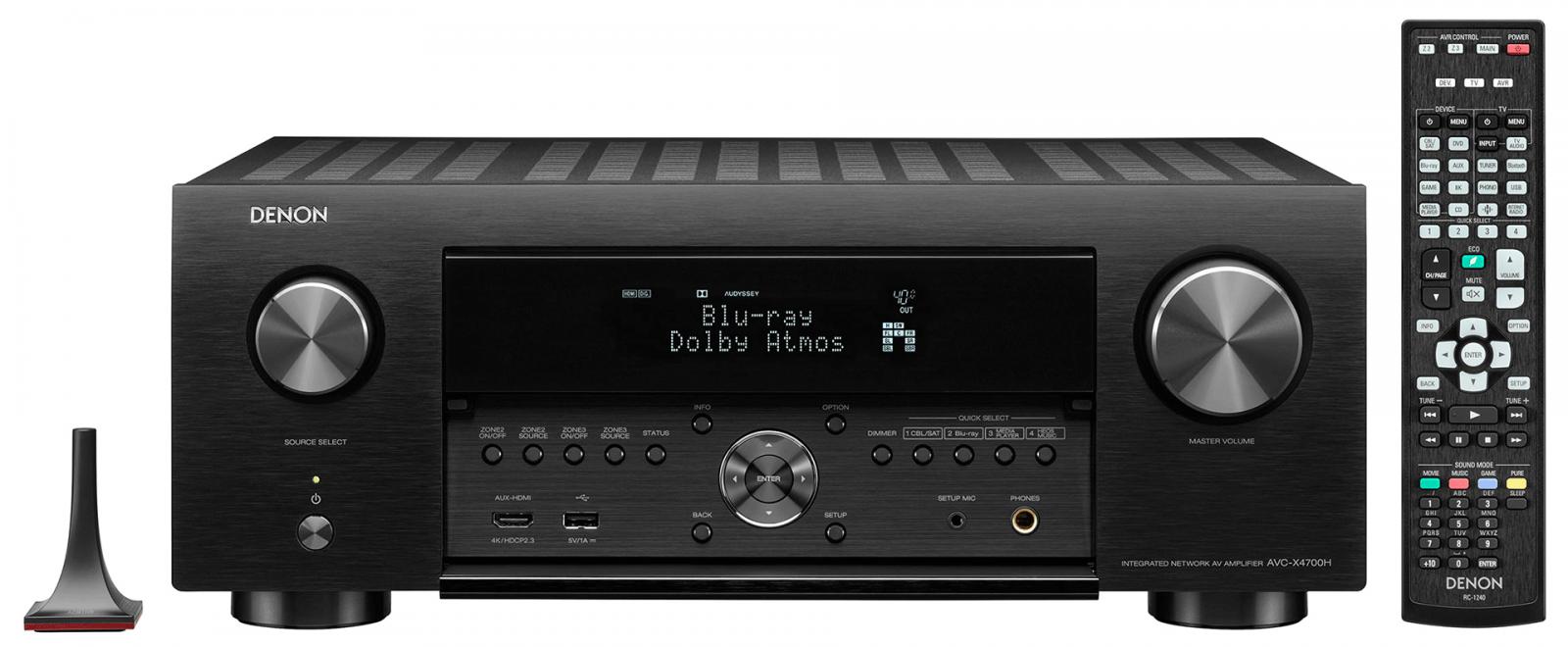 Denon AVC-X4700H | Ampli nghe nhạc - xem phim | Anh Duy Audio